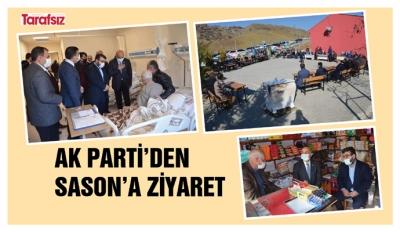 AK PARTİ'DEN SASON'A ZİYARET