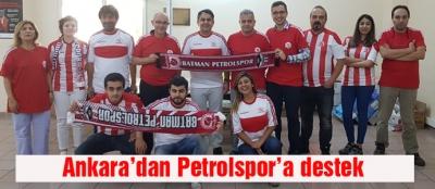 Ankara'dan Petrolspor'a destek