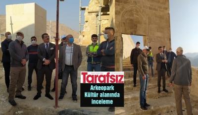 Arkeopark Kültür alanında inceleme