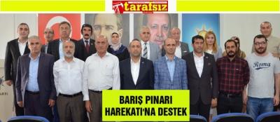 BARIŞ PINARI HAREKATI'NA DESTEK