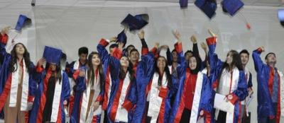 Basut Koleji'nde mezuniyet heyecanı