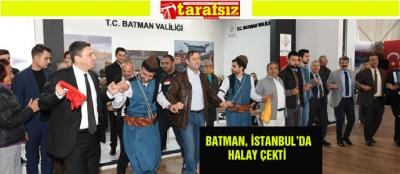 BATMAN, İSTANBUL'DA HALAY ÇEKTİ