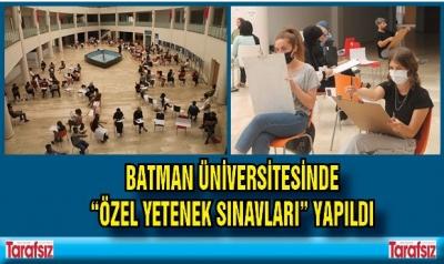 BATMAN ÜNİVERSİTESİNDE