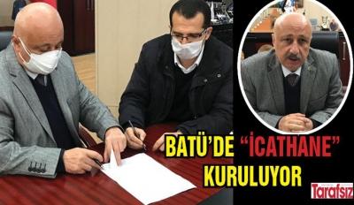 """BATÜ'DE """"İCATHANE"""" KURULUYOR"""