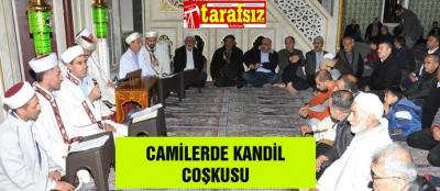 CAMİLERDE KANDİL COŞKUSU