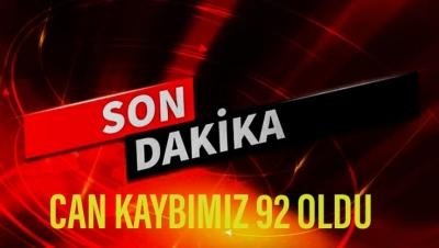 CAN KAYBIMIZ 92 OLDU