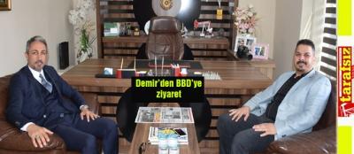 Demir'den BBD'ye ziyaret