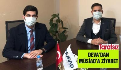 DEVA'DAN MÜSİAD'A ZİYARET