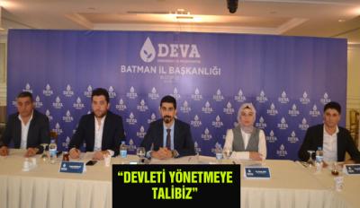 """""""DEVLETİ YÖNETMEYE TALİBİZ"""""""