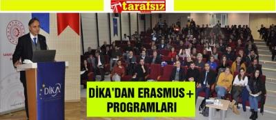 DİKA'DAN ERASMUS+ PROGRAMLARI