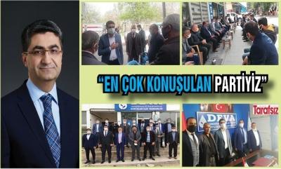"""""""EN ÇOK KONUŞULAN PARTİYİZ"""""""