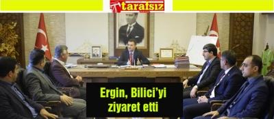 Ergin, Bilici'yi ziyaret etti