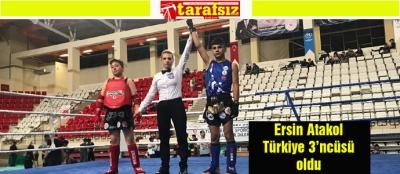 Ersin Atakol Türkiye 3'ncüsü oldu