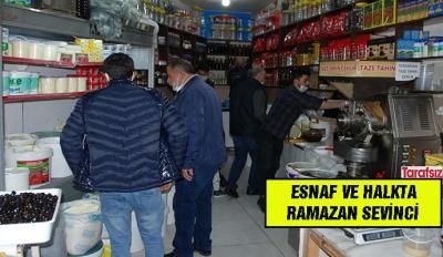 ESNAF VE HALKTA RAMAZAN SEVİNCİ
