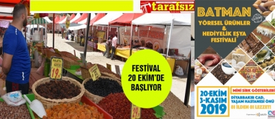 FESTİVAL 20 EKİM'DE BAŞLIYOR