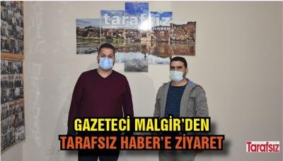Gazeteci Malgir'den Tarafsız Haber'e ziyaret
