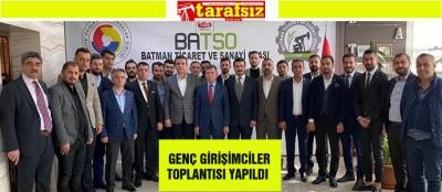 GENÇ GİRİŞİMCİLER TOPLANTISI YAPILDI