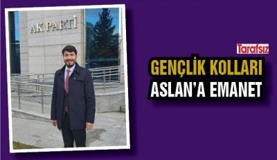 GENÇLİK KOLLARI ASLAN'A EMANET