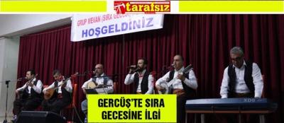 GERCÜŞ'TE SIRA GECESİNE İLGİ