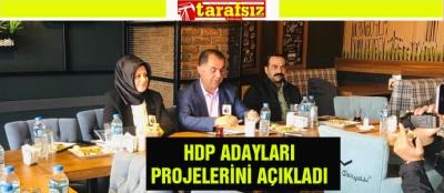 HDP ADAYLARI PROJELERİNİ AÇIKLADI