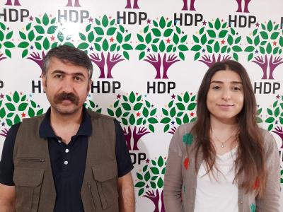 HDP BATMAN İL EŞ BAŞKANLARI GÖZALTINA ALINDI