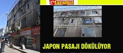 JAPON PASAJI DÖKÜLÜYOR