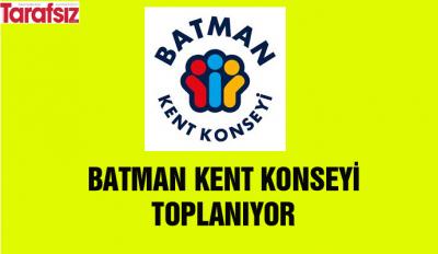 KENT KONSEYİ TOPLANIYOR