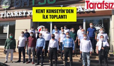 KENT KONSEYİN'DEN İLK TOPLANTI