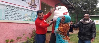 Kızılay'dan Etiyopya'ya yardım