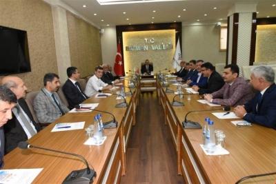 Komisyonu toplantısı yapıldı
