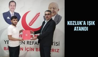 KOZLUK'A IŞIK ATANDI