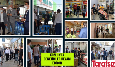 KOZLUK'TA DENETİMLER DEVAM EDİYOR
