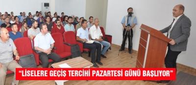 """""""LİSELERE GEÇİŞ TERCİHİ PAZARTESİ GÜNÜ BAŞLIYOR"""""""