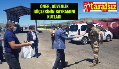 Öner, Güvenlik güçlerinin bayramını kutladı