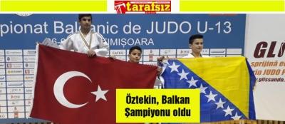 Öztekin, Balkan Şampiyonu oldu