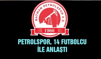 Petrolspor, 14 futbolcu ile anlaştı