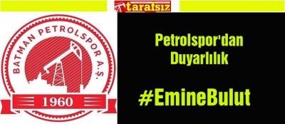 Petrolspor'dan Duyarlılık