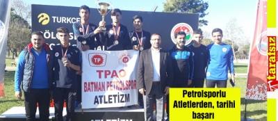 Petrolsporlu Atletlerden, tarihi başarı