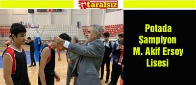 Potada Şampiyon M. Akif Ersoy Lisesi