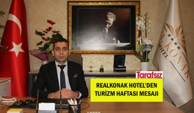 REALKONAK HOTEL'DEN TURİZM HAFTASI MESAJI