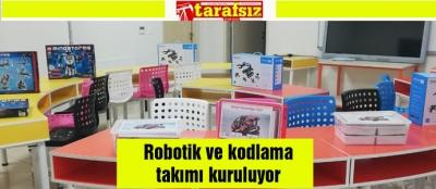 Robotik ve kodlama takımı kuruluyor