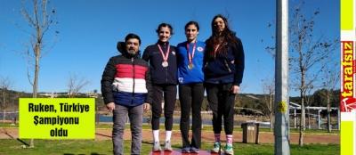 Ruken, Türkiye Şampiyonu oldu