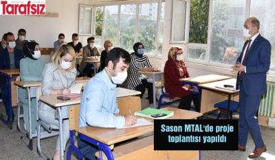 Sason MTAL'de proje toplantısı yapıldı