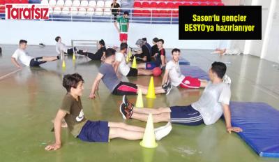 Sason'lu gençler BESYO'ya hazırlanıyor