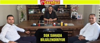 SGK SAHADA BİLGİLENDİRİYOR