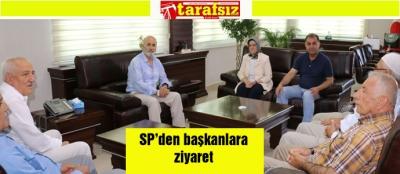 SP'den başkanlara ziyaret