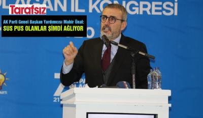 ''SUS PUS OLANLAR ŞİMDİ AĞLIYOR''