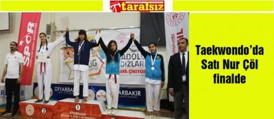 Taekwondo'da Satı Nur Çöl finalde