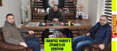 TARAFSIZ HABER'E ZİYARETLER SÜRÜYOR