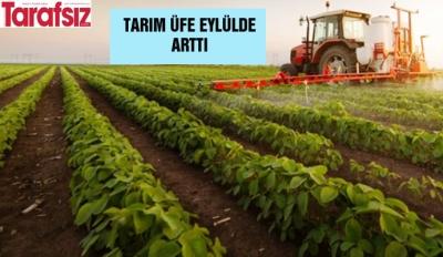 Tarım ÜFE eylülde arttı